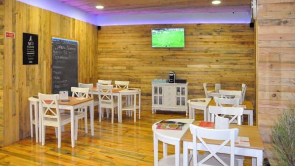 Sala do restaurante - Maria Farinha - Pizzaria Artesanal, Braga