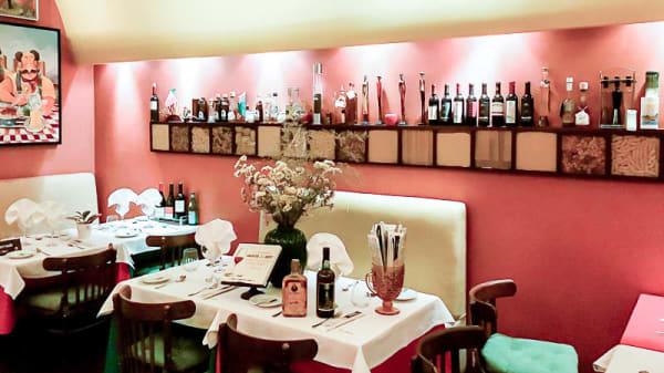 sala do restaurante - Ristorante Toscano, Porto