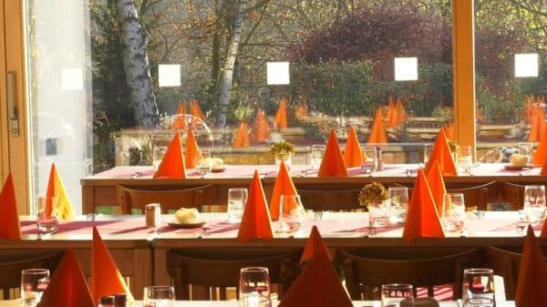 Vue des tables - La Table de Froidmont, Rixensart