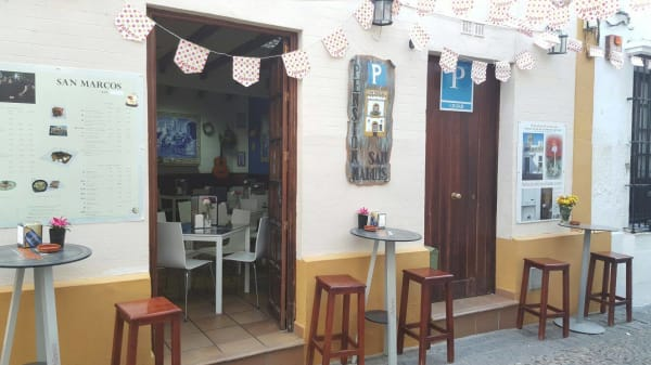 Entrada - Bar-Pension San Marcos, Arcos De La Frontera