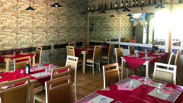 Vista della sala - Trattoria Pizzeria Monte Gaudio, Rome