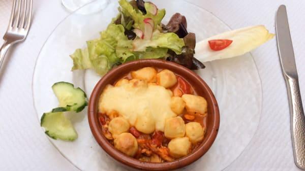 Suggestion de plat - Le Tibouren, Lyon