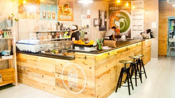 Vista del interior - CARE FOOD - Disfrute Sano, Villajoyosa