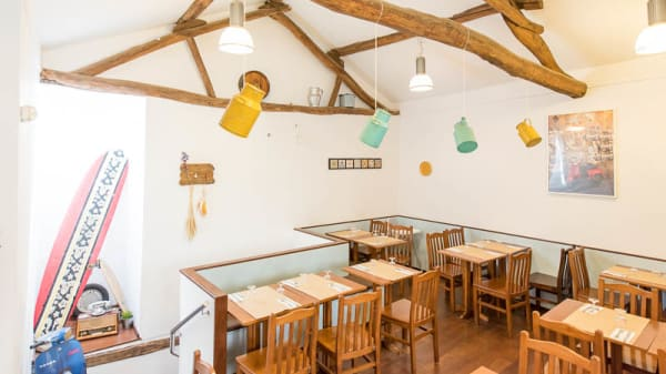 Sala do restaurante - Casa Rocha - comes & bebes, Porto
