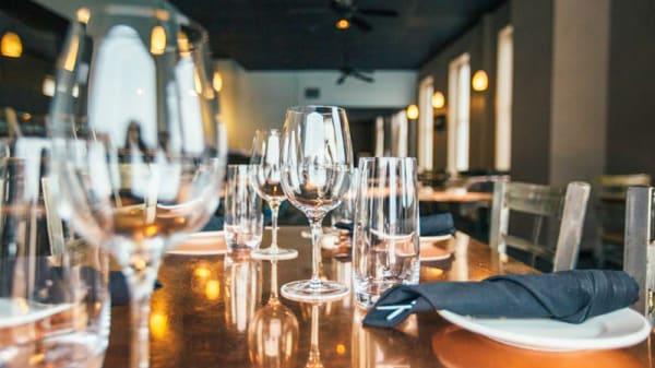 Detalle de la mesa - La Ruleta Food & Live, Madrid