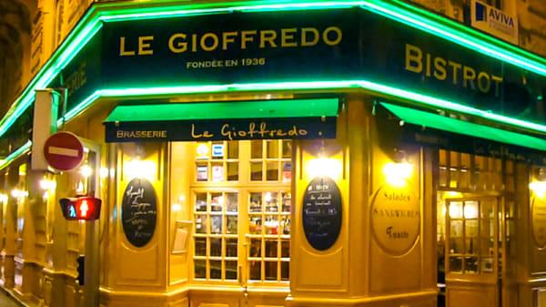 Devanture - Le Gioffredo, Nice