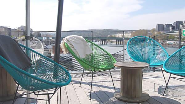 Terrasse - Reef Club, Boulogne-Billancourt
