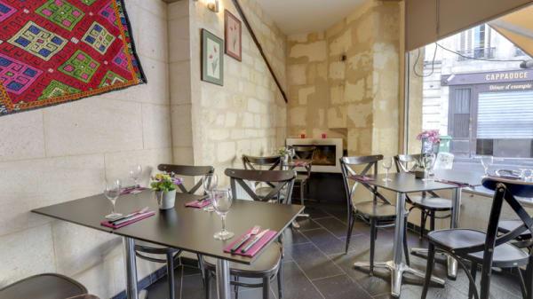Vue de la salle - AZ restaurant, Bordeaux