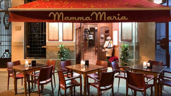 Terraza - Mamma Maria, Restaurante y Pizzeria, Valencia