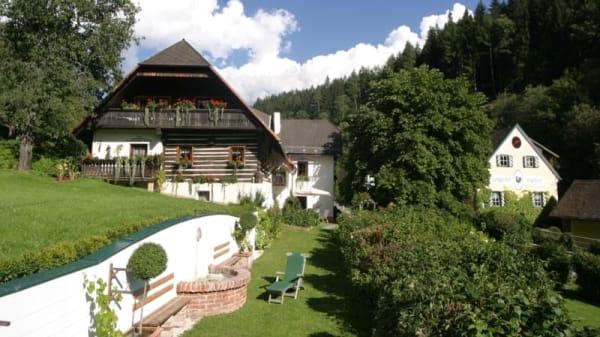 Eingang - Landgasthof Neugebauer, Lölling Graben