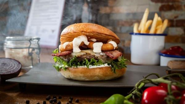 Mat - Angus Gourmet Burgers, Olofström
