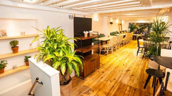 salle à l'etage - La Nouvelle Cantine, Paris
