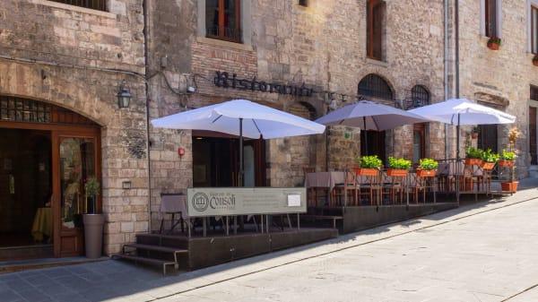 La nostra area esterna - Ristorante dei Consoli, Gubbio