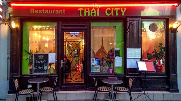 la devanture - Thaï City, Paris