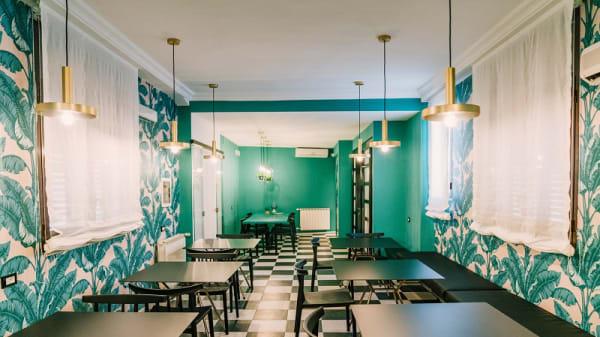 Vista sala interna - Seven Restaurant Roof Top Garden, Palermo