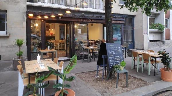 Vue de la terrsse - Les Petites Dalles, Paris