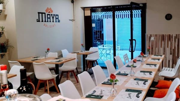 Vista de la sala - Maya Delicias, Sant Feliu De Guixols