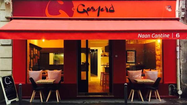 G by Gaspard Naan Cantine - G by Gaspard Naan Cantine Pigalle, Paris