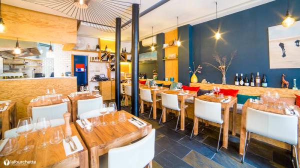 Salon du restaurant - Le Piano Perché, Paris