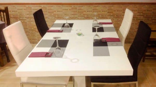 Detalle mesa - Chez Bruno, Valencia