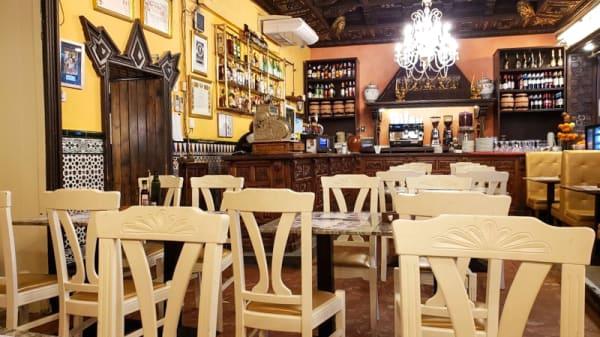 Sala del restaurante - Las escobas, Sevilla