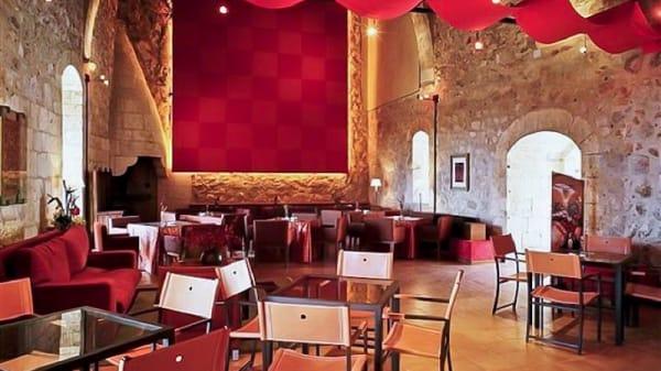 Vista cafetería - Restaurante Parador de Alarcón, Alarcon