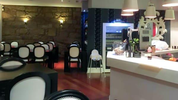 Vista del interior - Ginza Sushi Bar, A Coruña