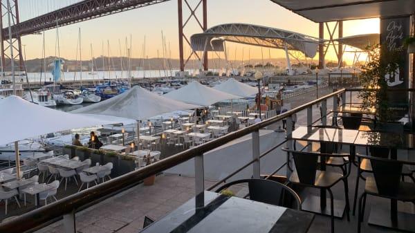 Esplanada - Quintal das Docas, Lisboa