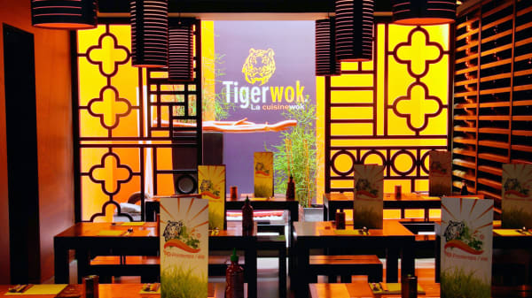 Salle du restaurant - Tiger Wok Lyon, Lyon