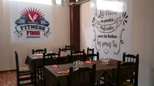 Sala del restaurante - Fitnessfood, Valencia
