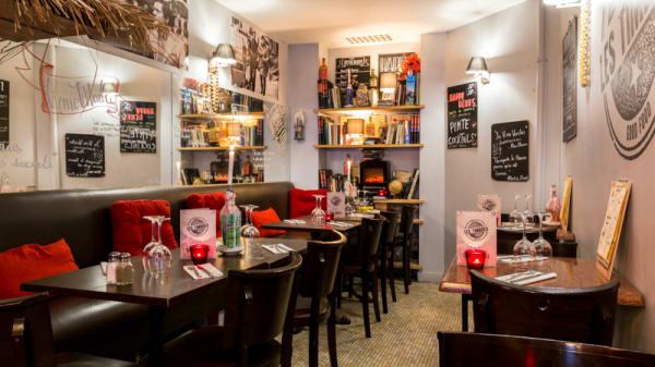Salle du restaurant - Les Timbrés, Paris