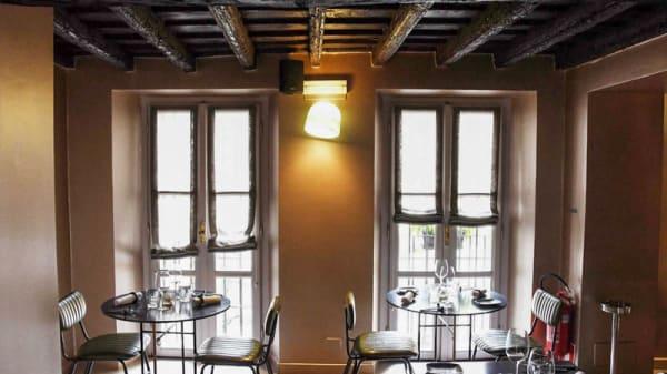Vista sala interna - Ortigia Bistrot, Turin