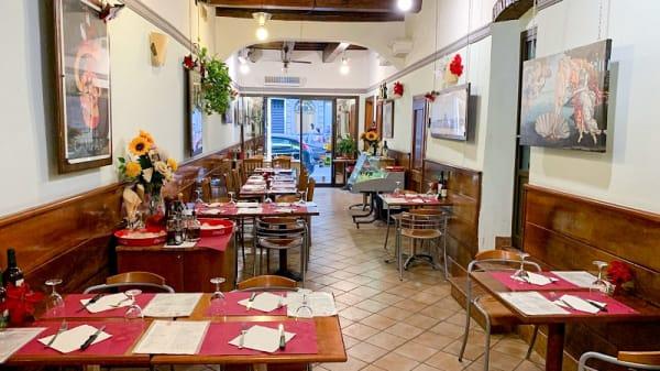 Vista sala - La pizzeria, Florence