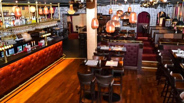 Dining hall and bar - Hermans Restaurang & Nöje, Falkenberg