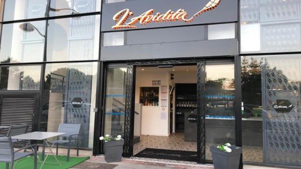 Entrée - L'Avidita, Marseille
