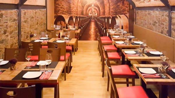 Vista de la sala - Il Vino, Madrid