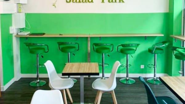 Vue de l'intérieur - Salad Park, Ivry-sur-Seine
