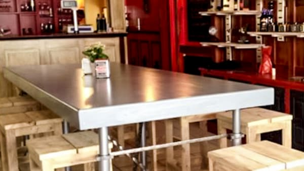 Vue table - L'épicerie Luz del Sur, Saint-Jean-de-Luz