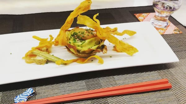 Sugerencia de plato - Restaurante Aoba-ya, Alicante (Alacant)