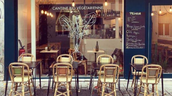 Devanture - Cantine Primeur, Paris