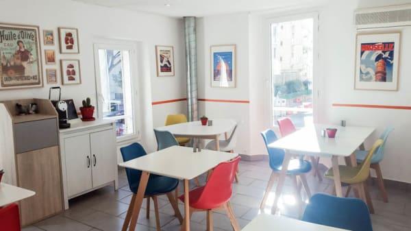 Vue de la salle - Le Tchitchou, Marseille