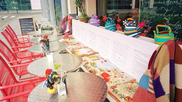 apreçu table dressée - La Popote, Antwerp