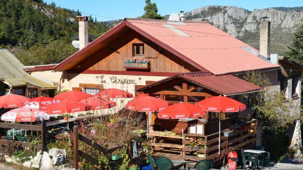 Restaurant - Le Christiana - Chez Huguette, Andon