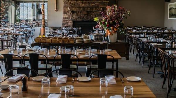 Main dining room - Olivigna Restaurant at Pietro Gallus Estate, Warrandyte South (VIC)