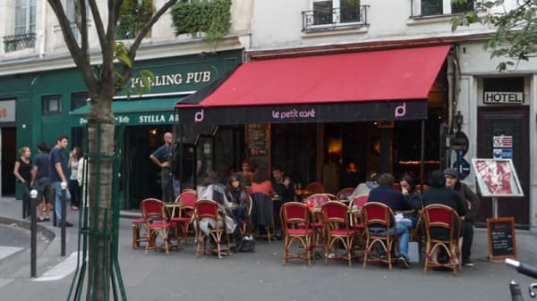 Terrasse - Le Petit Café, Paris