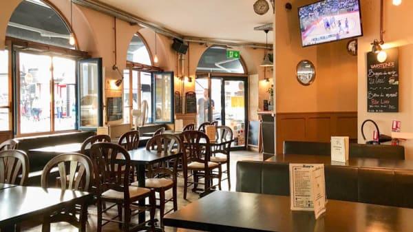 Vue de la salle - Roy's Pub Restaurant, Paris