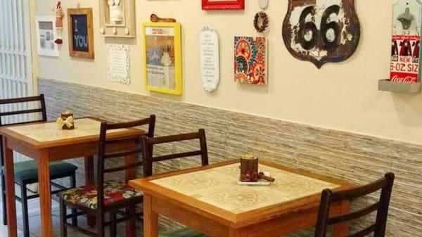 Vista da sala - Bistrô Empada da Caixinha, Vila Velha