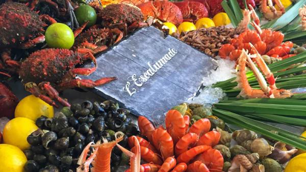 Fruits de mer - L'Escalumade, Gujan-Mestras