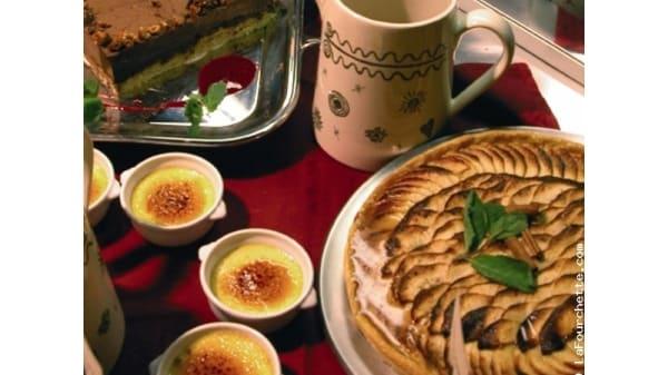 Buffet desserts - Le Ski d'Or, Tignes