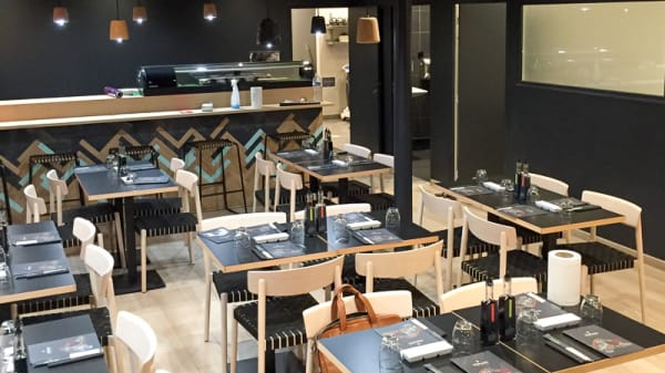 Vue de la salle - Côté Sushi Nogent, Nogent-sur-Marne